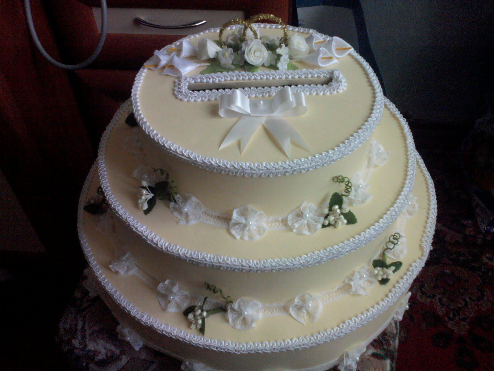 Торты на свадьбу своими руками фото