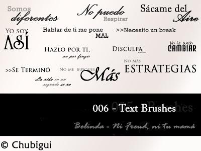 textbrushes - Belinda
