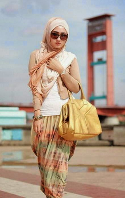Tenues fashion hijab