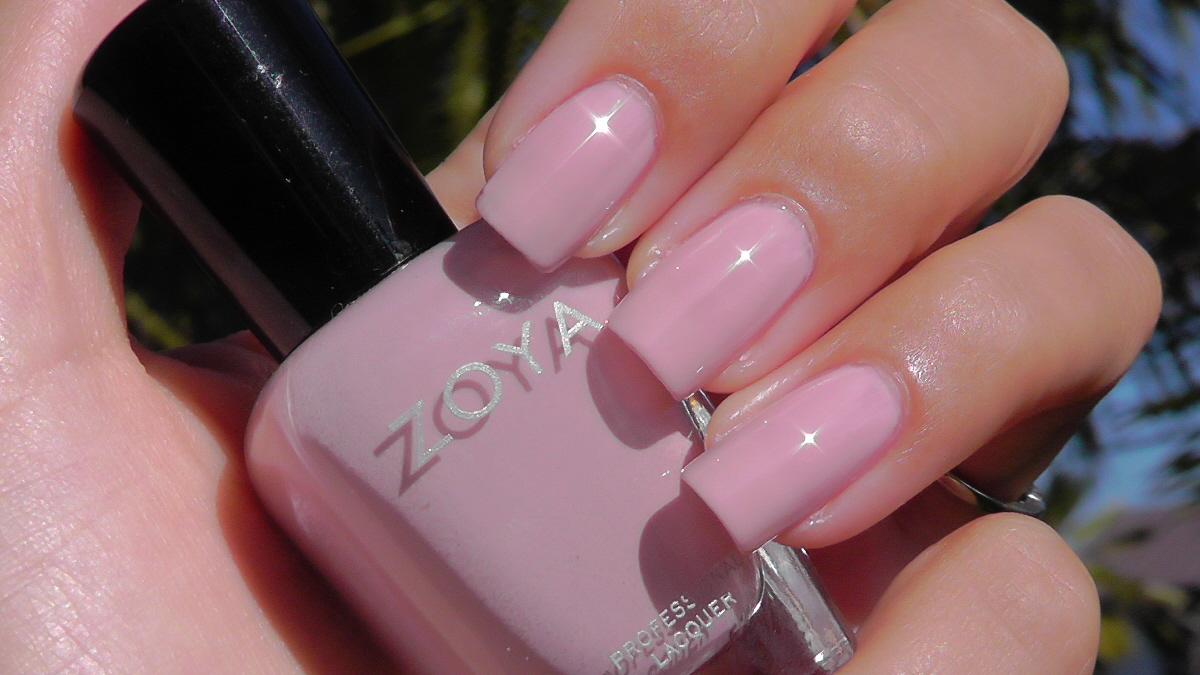 Modern Bohemian Lifestyle Zoya Swatches Pink
