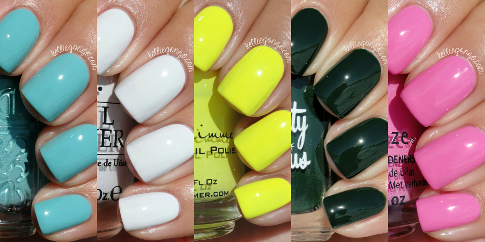 KellieGonzo: All About Nail Polish Tag