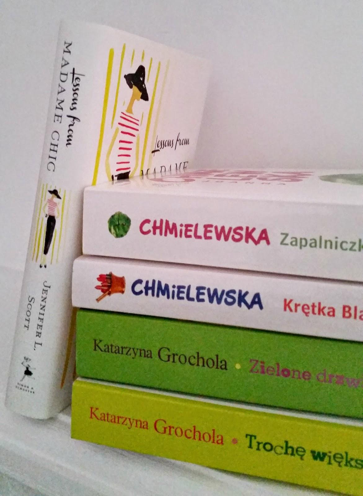 książki: Katarzyna Grochola, Joanna Chmielewska