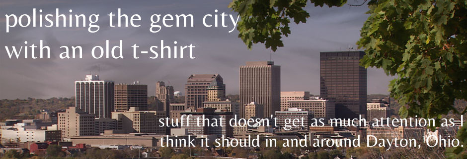 polishing the gem city with a old t-shirt