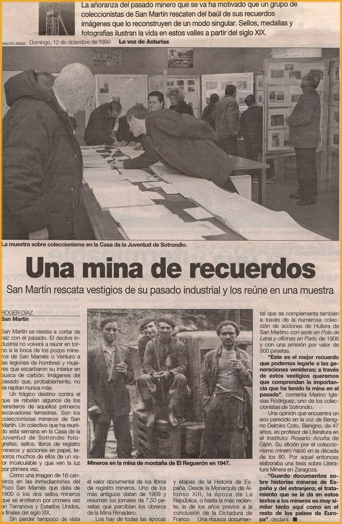 Noticia de Grucomi en 1999