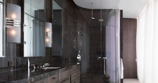 Designer Drains: Bathrooms for Real Men