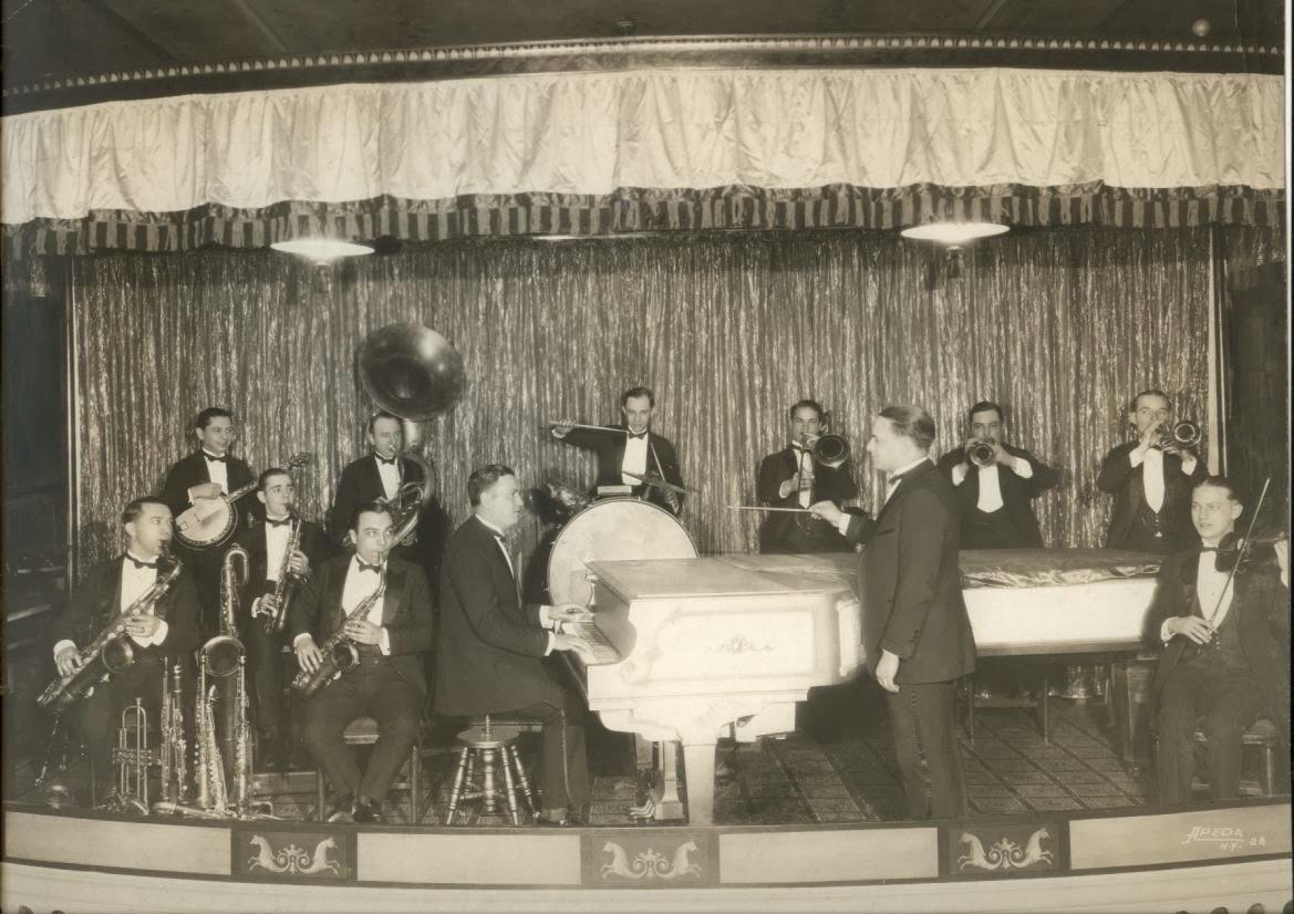 Bob Effros in Vincent Lopez Orchestra
