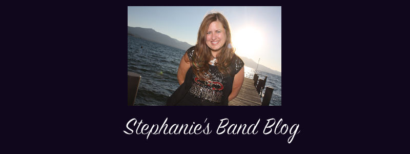 Stephanie's Band Blog