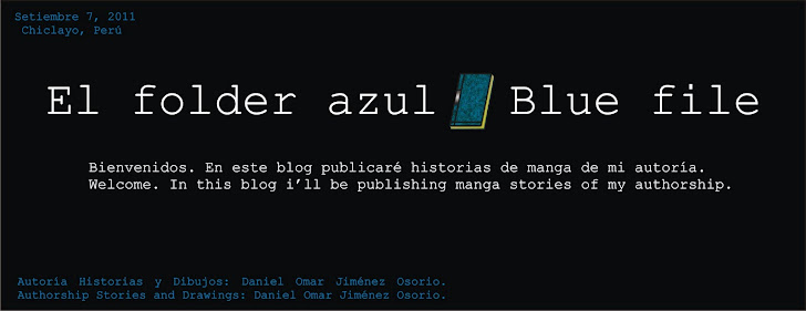 El folder azul/ Bluefile - Read my manga/comic stories