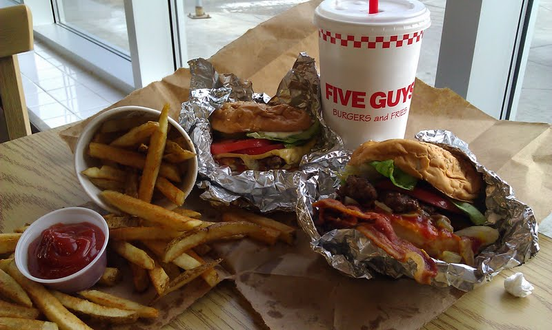 Five Guys Burger And Fries Better But Not The Best In Search Of