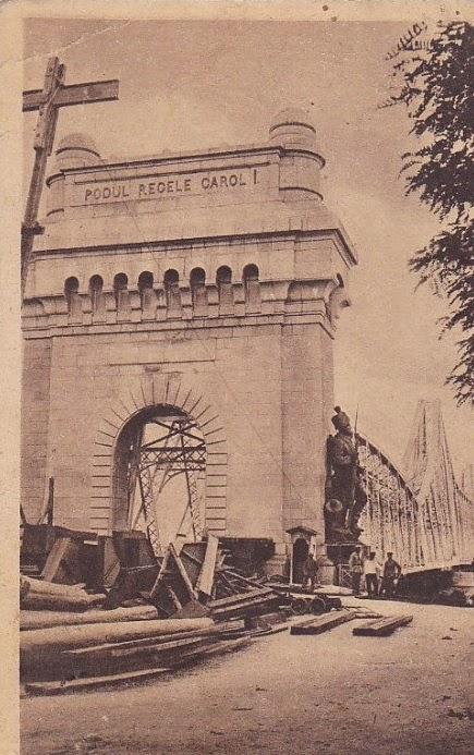 Podul Anghel Saligny in Primul Razboi Mondial
