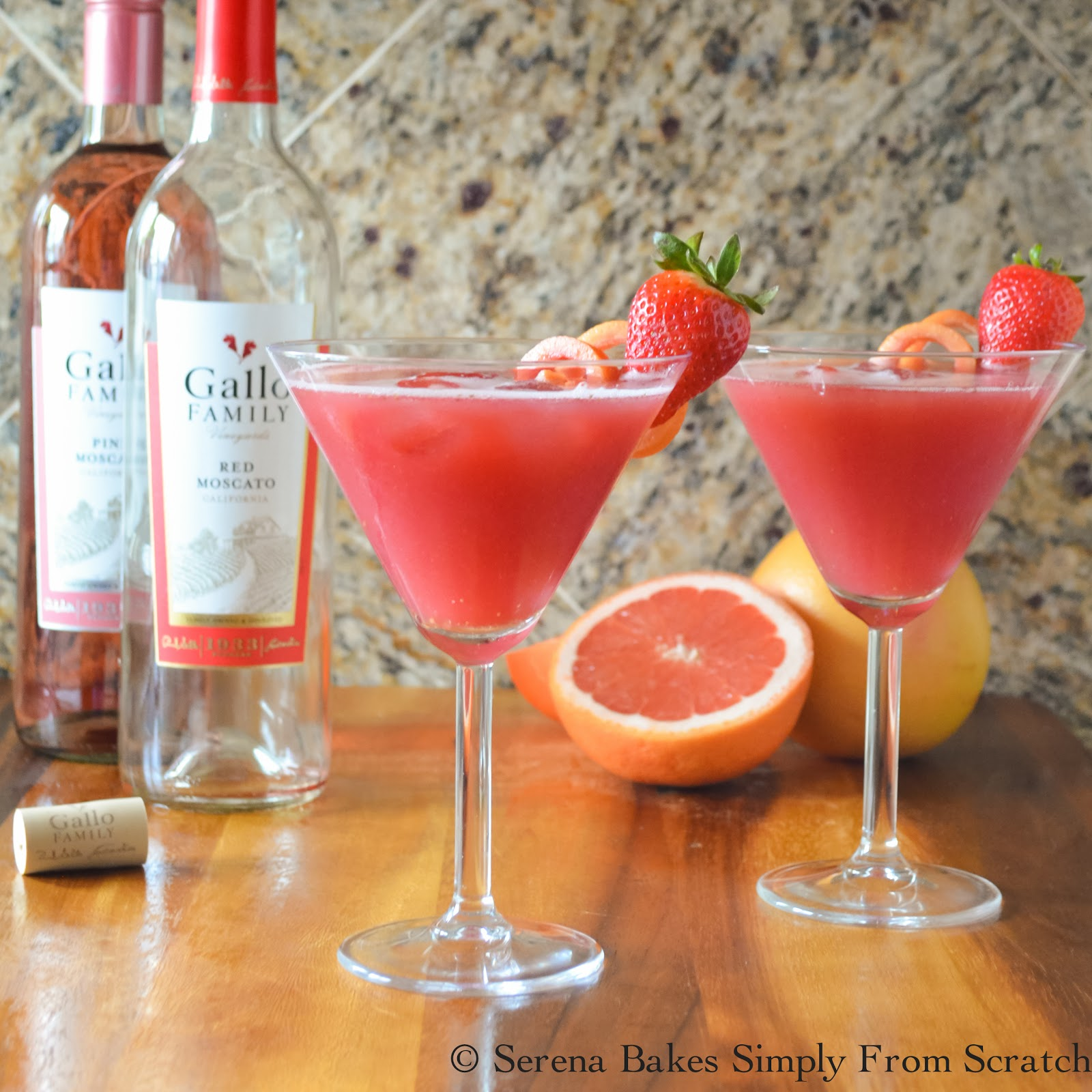 Pink Moscato Punch Recipe