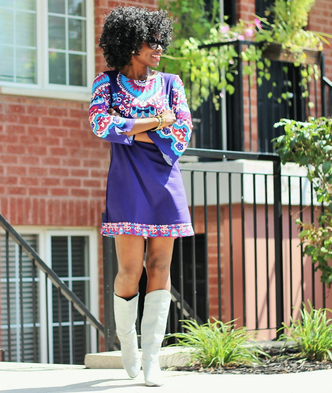 AFTER SUMMER COMES FALL: THE IN BETWEEN DRESS X FALL BOOTS/PRE-FALL LOOK