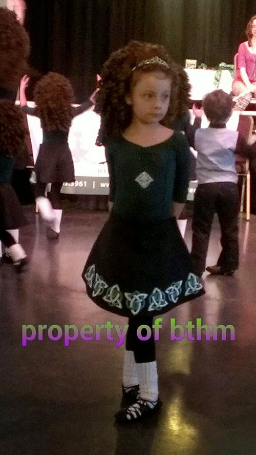 irish dancer pose