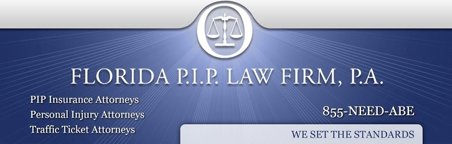 Florida PIP Law Firm / 855-Need-Abe