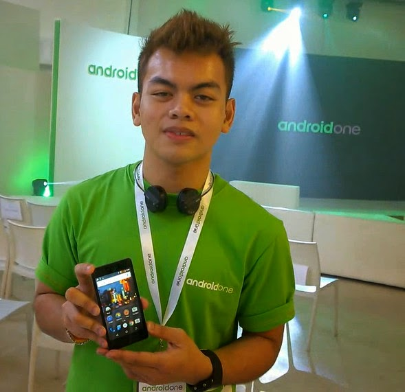 Nathaniel Castro, Google Android One, Android One Philippines, Cherry Mobile One