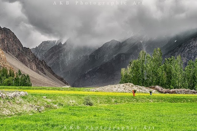 Life in Ashkole Village,Baltoro Valley