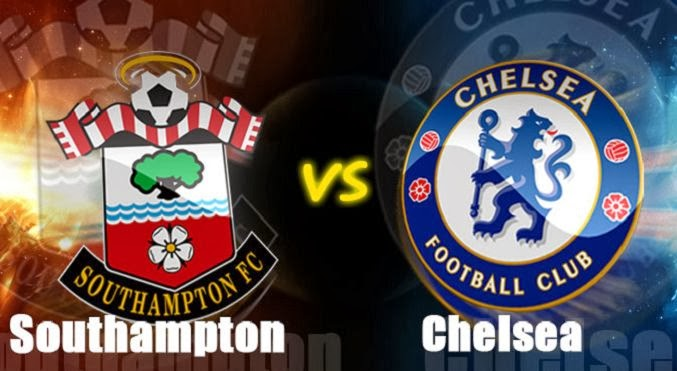 Southampton vs Chelsea Premier League 2014
