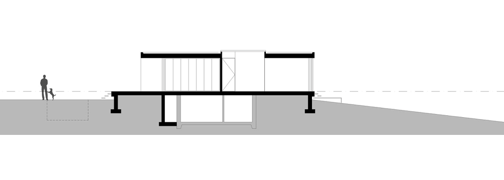 Potongan Rumah 2 Lantai