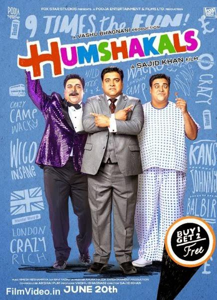 Humshakals Movie First Look Poster