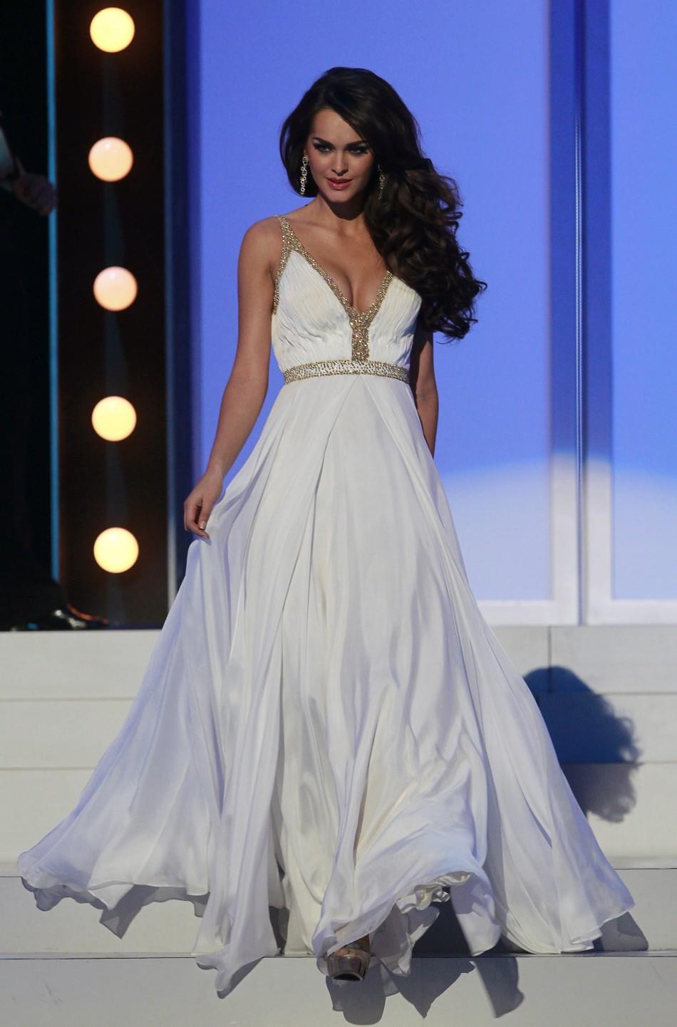 Miss Ukraine Olesia Stefanko