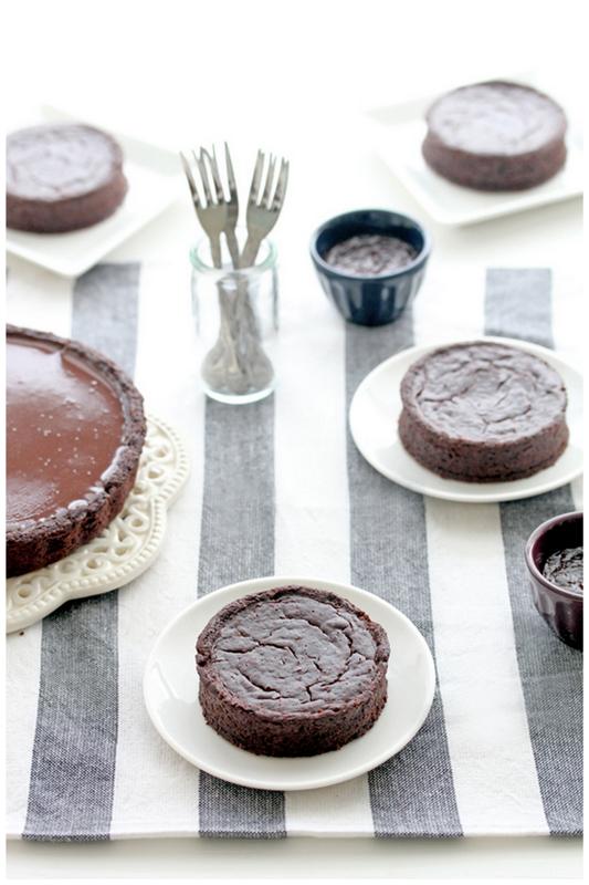 ... .: Chocolate rum truffle tart and ARIA praline chocolate tartelettes