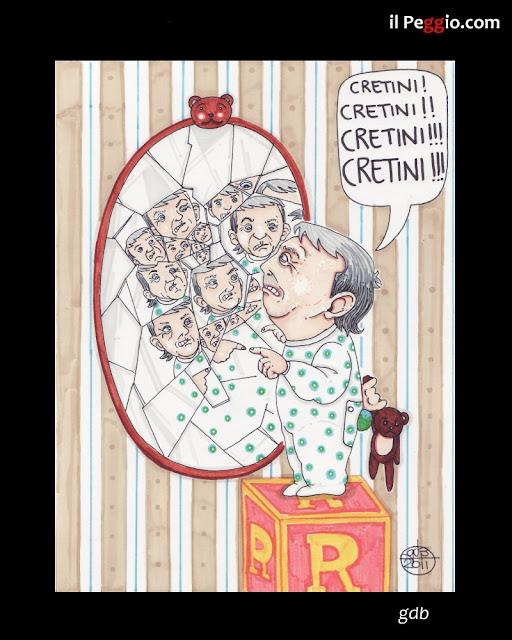 vignetta satirica su Brunetta