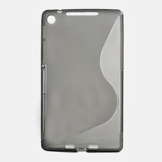TPU Jelly Case for ASUS Google Nexus 7 2 ii - Grey