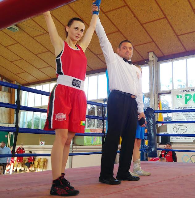 sport, boks, Kinga Szlachcic, Adriana Marczewska, Mistrzostwa, trening, Polska, Zielona Góra, Lubuskie