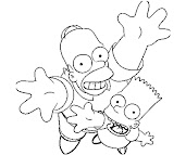 #7 The Simpsons Coloring Page