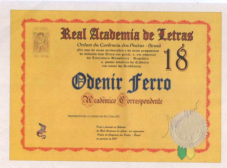 REAL ACADEMIA DE LETRAS