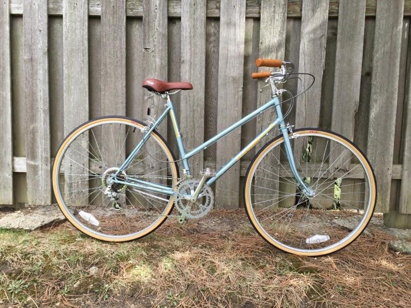 John S Bicycle Restorations Sara C S 1985 Schwinn World Sport