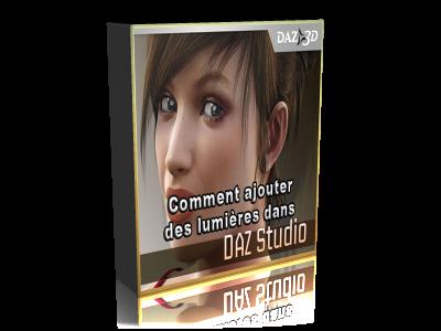 comment ajouter des lumieres dans Daz Studio