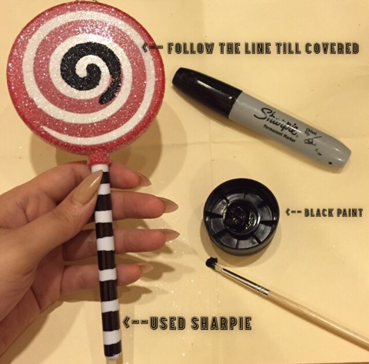 blogs of art diy nightmare before christmas glitter lollipop ornaments
