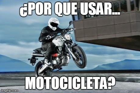 ¿Por que usar moto?