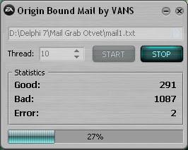Origin Bound Mail