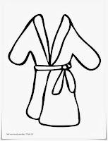 Gambar Pakaian Mandi Untuk Diwarnai