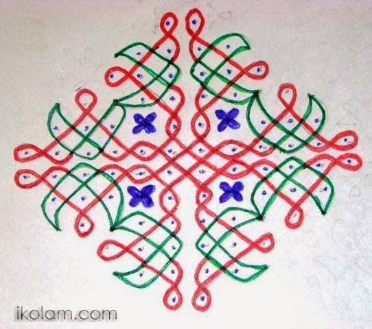 chukkala muggulu | Sankranti Muggulu | Sankranti Rangoli Designs - 12