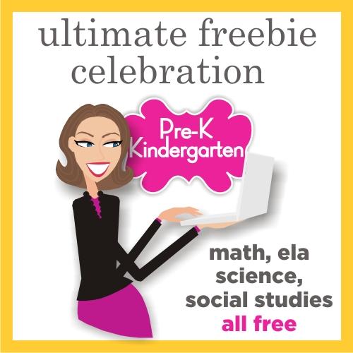Prek and Kindergarten Free Download - Teacher Celebration on Teaching Blog Addict