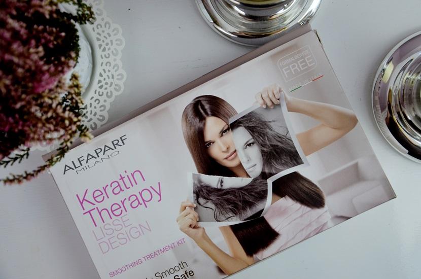 Keratynowe prostowanie włosów, Alfaparf
