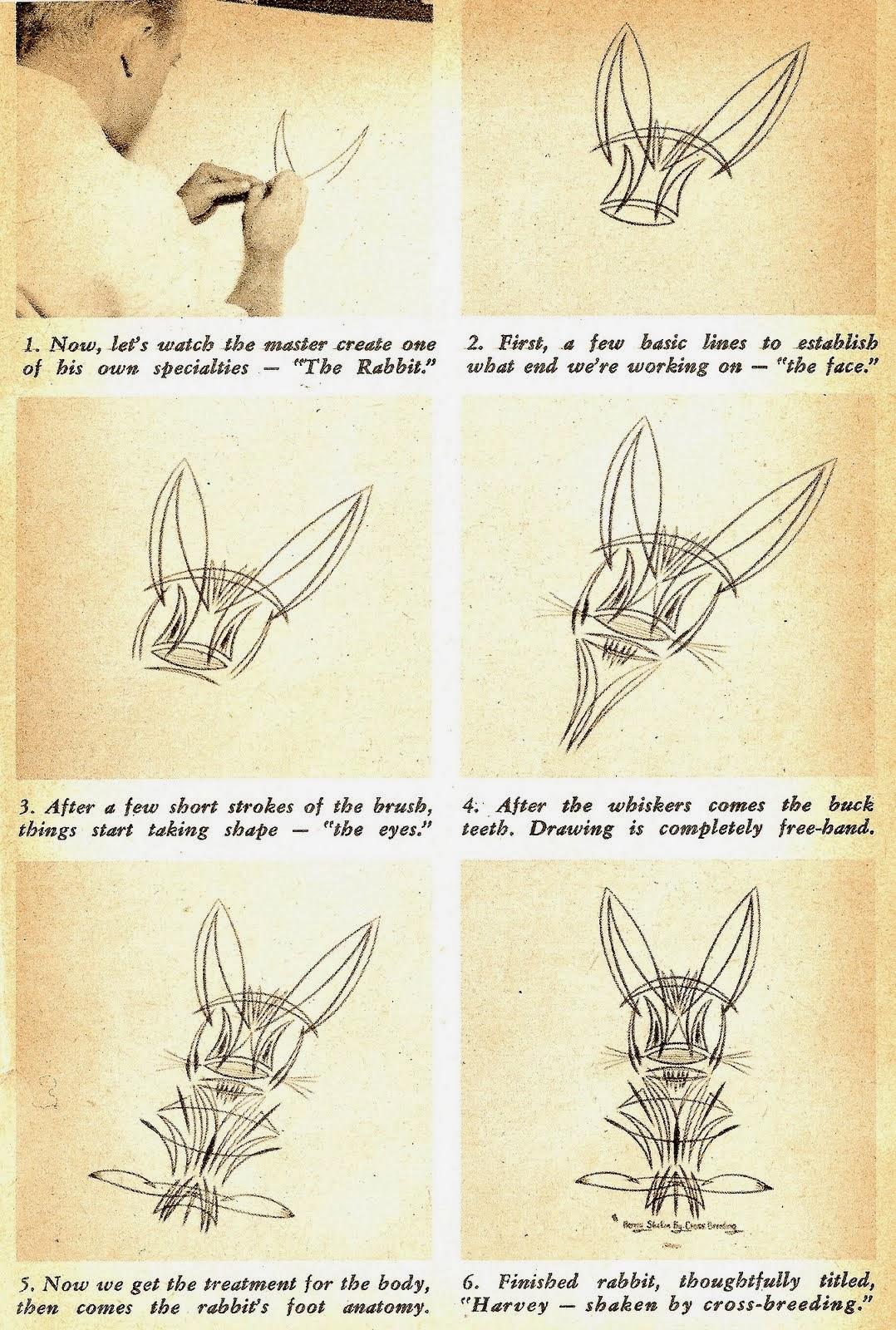 Just A Car Guy: Von Dutch\'s rabbit Harvey - Shaken by crossbreeding ...