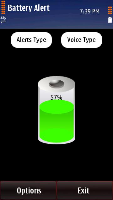 Battery Alert S60v5 Symbian^3 Anna Belle Signed