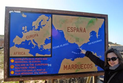 TARIFA, punto más meridional de Europa