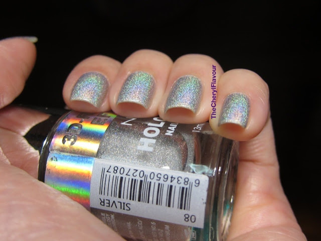 Nabi Holographic Silver