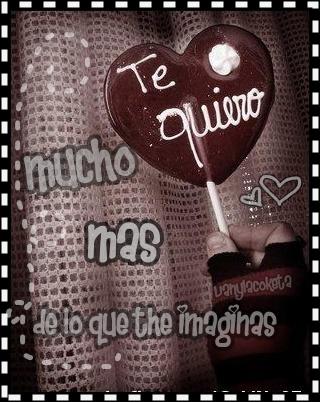 tarjetas con frases de amor en corazones