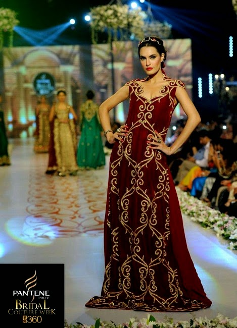 Tabassum Mughal Bridal Collection At PBCW 2014