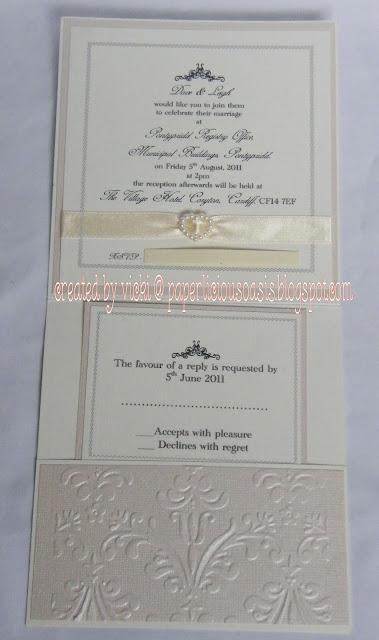 Paperlicious Oasis Wedding Invitations