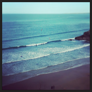 Newquay in the sunshine