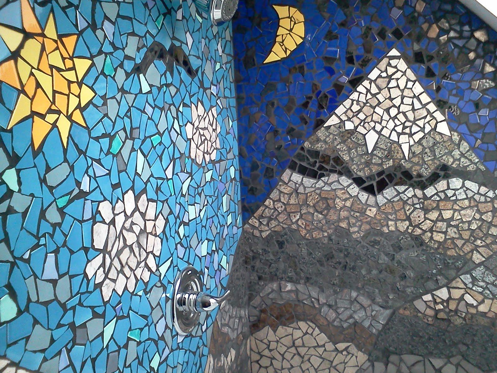 Ceramic tile mosaic patterns