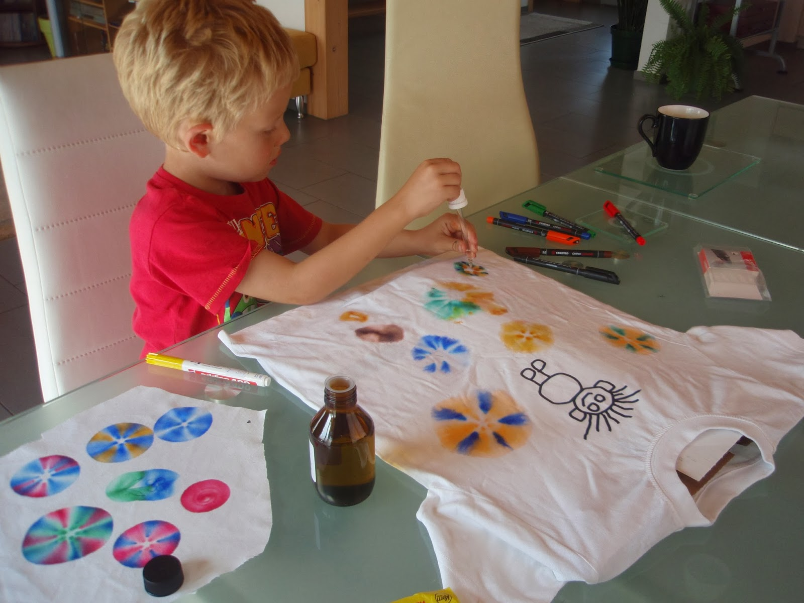 art for preschool at home