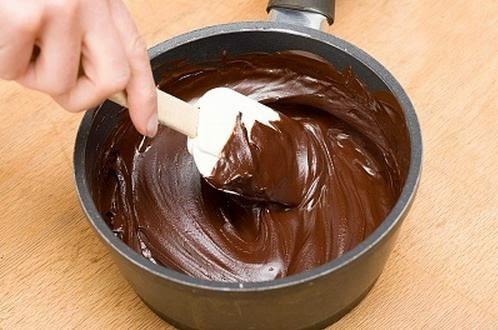 Baño de chocolate y dulce de leche